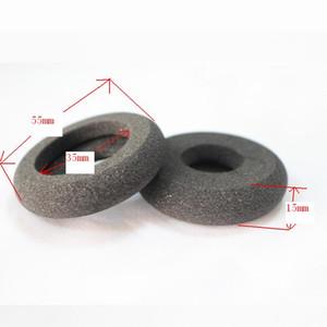 1 Paar 55mm Donut Schaum Ohrpolster Ersatz Ohrpolster Call-Center-Headset Schwamm Ohrpolster Kissen