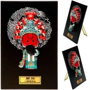 Karikatür Heykelcik Opera Karakter Maskesi Kolye Süsler Ev Mobilya Süsler Hediyeler Guan Yu Dışişleri Yurtdışında PCKDF