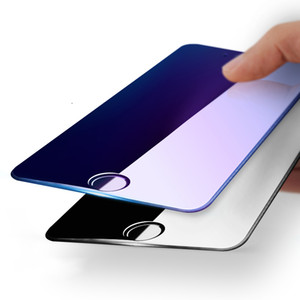 Fashion 4D Curved Full Cover Tempered Glass For iPhone 6 6S 7 7 Plus Protective Film Hard Gloss Edges