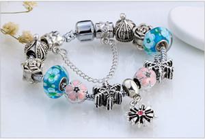 снежинка очаровывает браслеты, хорошее качество бисерные браслеты прелести, моды браслеты браслеты в профессиональной ювелирном интернет-магазине