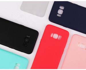 Weicher bunter TPU Silikon-Abdeckungs-Fall für Samsung-Galaxie S8 8 Plus s7 S7 Rand S6 s6 Rand für iphone7 7plus 6s 6s plus