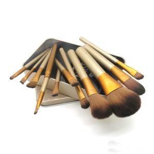 New Arrival 12 Pcs set No3 Makeup Brush kit Sets for eyeshadow Brushes Cosmetic Brushes Tool 1set Free Ship