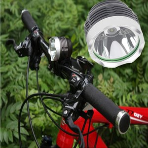 CRESTECH IP65 à prova d 'água levou farol da bicicleta da bicicleta com CREE XML-T6 LEVOU 10 W 800LM LED Luzes Da Bicicleta Da Bicicleta Farol