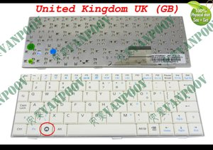 ASUS EeePC Eee PC 700 701 900 901 White için Yeni Laptop Klavyesi Beyaz Birleşik Krallık UK Versiyonu - V072462AK1 Versiyon: İngiltere (GB) English *