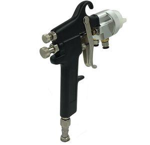 Top Qualität Pneumatische Werkzeuge Neue maler doppel düse spritzpistole für chrom und silber spiegel malerei freies DHL verschiffen