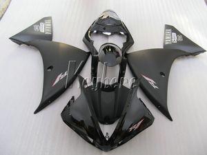 Yamaha YZF R1 09 için en çok satan enjeksiyon kalıplama kiti 10 11 12 13 14 mat siyah kaportalar YZFR1 2009-2014 OR29