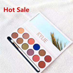 New Fashion Borgogna ombretto palette Trucco Royal Palette Peach Kylie Jenner Ombretto La Borgogna Eyeshadow Palette spedizione gratuita FB021