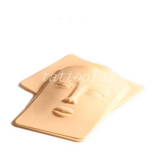 10pcs Donna Tattoo Practice Skin Skins 4D Face Tattoo Practice Skin Adatto per occhi trucco sopracciglia pratica