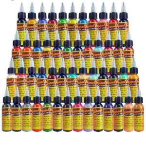 Solong tatuaggio di colore dell'inchiostro 50 colori 1 oz / 30ml bottiglia creamsicle inchiostri del pigmento del tatuaggio del tatuaggio di trasporto