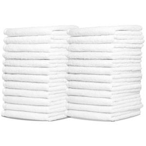 100% Baumwolle Hotel Guest House Badetücher Weiße Farbe Handtuch Weiche Badezimmer Liefert Unisex Verwendung Natürliche Sichere Handtücher 70 * 140 Cm 400G