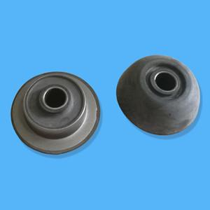 Soporte de motor del amortiguador 201-01-71250 del motor para el excavador KOM PC128US-2 PC128UU-1 PC128UU-2 PC128US-1 PC130-8 PC100-6 PC120-6 S4D102