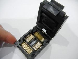 YAMAICHI QFP80PIN IC TEST SOCKET IC51-0804-819-1 SOKET SOKAK 0.8 MM PITCH