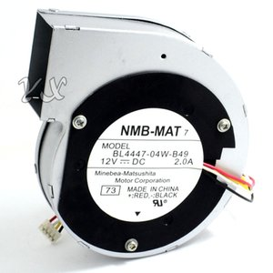 Japonya NMB 11028 12 V 2A 11 cm santrifüj türbin fan BL4447-04W-B49 4 teller