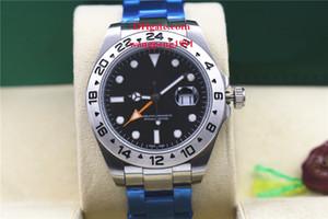 2 estilo homens de alta qualidade relógio 42 milímetros 216570 pulseira de aço inoxidável série clássica Ásia 2813 movimento mecânico automático mens watch