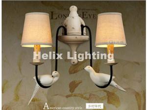 북유럽 레트로 새 디자인 벽 램프 북유럽 장식 로프트 벽 빛 NEW 벽 침대 식당 욕실 E14 LED 홈 장식 조명