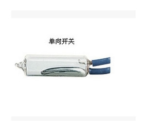 retail 212 12mm mercury switch tilt sensor 220v 3a 50degree 15cm wire
