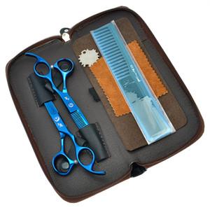 5.5 Inç 6.0 Inç Daomo 2017 En Profesyonel Saç Makas Seti Berber Saç Makası Salon Kesme Makas İnceltme Makası Çantası, LZS0627