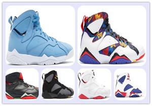 رخيصة 7 7 بانتون هير تينكر البديل الأولمبية أحذية كرة السلة 7 ثانية أحذية رياضية ألعاب القوى رجل حذاء رياضة التدريب الأزياء