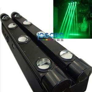 Freies Verschiffen 4PCS / Lot doppelte Reihen-Strahln-Spinnen-bewegliche Haupt-LED 8x10w RGBW 4in1 oder weiße LED, die geführte Lichter DJ-Stab-Partei-Nachtklub-Lampe bewegen