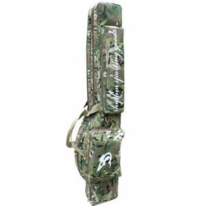 47inch Tactical caça carry caso de mão 1.2 m longo rifle gun slip dupla para caça mochila saco Multicam CP