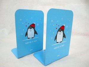 책꽂이 단단한 금속 높은 책상 책 조직자 책꽂이를위한 학교 선반 서 금속 Bookends 철 2Pcs / pair
