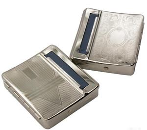 Rollbox автоматическая сигарета прокатки машина сигареты делая машину 70 мм DIY табак металлический ролик коробка другие портсигар инструмент аксессуары