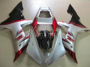 Горячие продажи пластиковые обтекатель комплект для Yamaha YZF R1 02 03 белый красный черный обтекатели комплект YZF R1 2002 2003 OI13