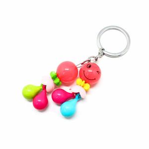 Fabricantes Little Anillo Key Plastic D Cadena 3 Venta Llavero Creativo Niza Clave de dibujos animados Stsir