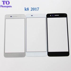 Nuova sostituzione del vetro esterno con touch screen anteriore per LG K10 X400 K8 X300 2017
