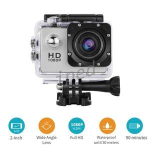 SJ4000 Stil A9 2 Zoll LCD-Bildschirm 1080P Helm Sport DV Video Car Cam DV Aktion wasserdicht Unterwasser 30M Sport Kamera Camcorder billig