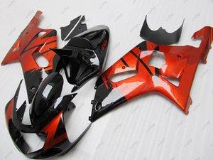 Bodywork for Suzuki GSXR1000 2002 Body Kits GSXR1000 2000 Red Black ABS Fairing GSX R 600 750 1000 02 03 2000 - 2003 K1 K2