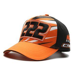Para ktm mens gorras bonés de designer moto gp motocicleta equipe de corrida de automóveis chapéus cap orange bikes preto dos homens mulheres boné de beisebol chapéu de luxo