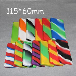 huile de silicone waxmate contenant pot dab cire petite cire pad mate pad carré récipient petite qualité alimentaire pad en silicone pad en cire de silicone
