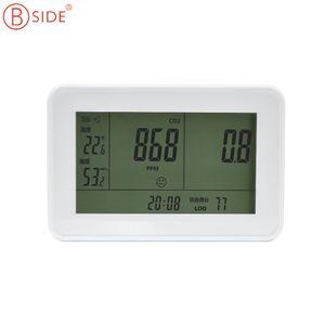 Al por mayor BSIDE EET500 Gas Analizadores 3-in1 detector Analizador de CO2 Contador de gas 0 ~ 9999ppm CO2 Analizadores con la temperatura y humedad Tester