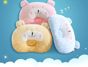 children pillow baby one to nine years old soft comfortable cotton siesta cute setting neck guard multicolor optional