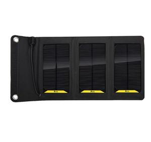 في الهواء الطلق امدادات الطاقة 6W عالية الكفاءة في الهواء الطلق للطي شاحن للطاقة الشمسية حقيبة شاحن لوحة للطاقة الشمسية للهاتف المحمول قوة البنك MP3 / 4 السفينة حرة.