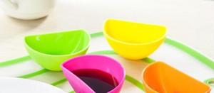 Yeni Gelmesi Dip Klipler Mutfak Kase kiti Aracı Küçük Yemekler Baharat Klip Domates Sosu Tuz Sirke Şeker Lezzet Baharat Için