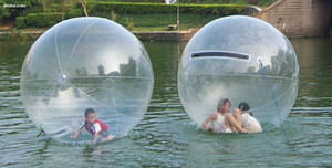 For Children 1.3M PVC Inflatable Water Walking Ball Transparent Dance Ball Water With 3L Foot Air Pump