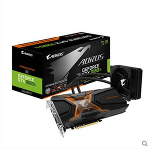 GTX1080 Ti 11G Gráficos para Gigabyte AORUS GTX 1080 Ti Waterforce WB Xtreme Edition GDDR5X 352 bits Gaming Video Card GV-N108TAORUSX WB-11GD