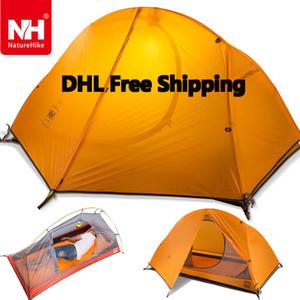 Großhandels-DHL freeshipping 1.5KG naturehike ultralight Zelt 1 Person im Freien kampierend, wasserdichte Zelte wandernd Einzelne Carpas plegables Tenda