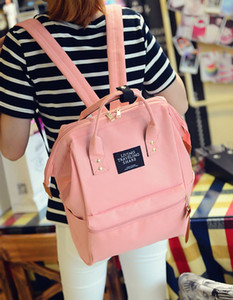 New women&men mountaineering backpack students leisure fashion handbag black pink blue white red multi color no112