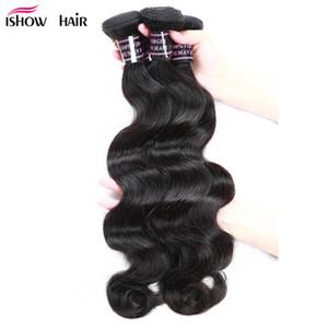 Großhandel Billig 8A Brasilianisches Haar Wefts 5Bundles Körperwelle Reine Haarverlängerungen Unverarbeitete peruanische indische malaysische Menschenhaar Bundles
