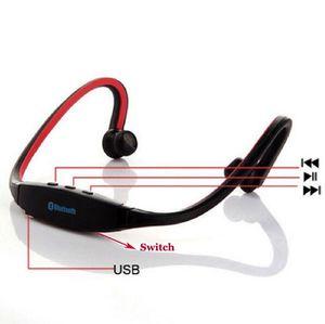 Новый S9 Спорт беспроводная связь Bluetooth 3.0 наушники наушники гарнитура для ip 6/5/4 galaxy S5/S4/3 Android с микрофоном