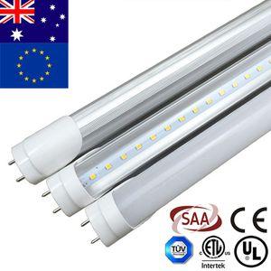 Hyperikon T8 LED 숍 라이트 튜브, 4피트의 30 팩 (40W 상당) 20W, 투명 커버, G13 조명기구, 묘비 포함 SAA CE RoHS 규제