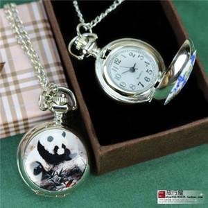 Через династии Мин и Цин, синяя и белая панда, ретро раскладушка, карманные часы ожерелье, мужчины и женщины, студенты, подарки за рубежом