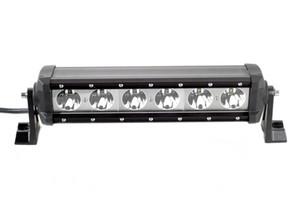 60 W süper parlak off-road araç araba LED tek sıra 6 * 10 w CRE uzun spot modifiye ön çatı ışıkları