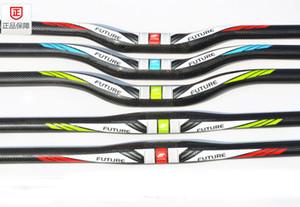 futuro bicicleta mtb bicicleta de fibra de carbono completa manillar manillar MTB bicicleta 31.8 * 580 660 680 700mm montañosas partes de ciclismo de montaña