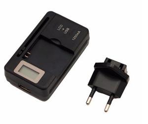 범용 지능형 LCD 표시기 배터리 충전기 삼성 갤럭시 S4 I9500 S3 I9300 참고 3 USB 출력 충전 US EU PLUG 2017