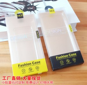 Luxury Universal Packing Box Retail Package Plastic PVC Packaging Packing Box For iPhone 8 Mobile Phone Case with Hanger