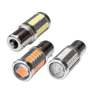 1156 P21W 7506 BA15S 33 smd 5630 5730 conduit feux de freinage automatique feux de brouillard arrière voiture DRL lumière de conduite inverser les ampoules signaux de virage